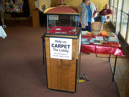 Redford Theatre Open House Carpet Donations