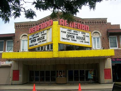 Redford Theatre Open House Marquee