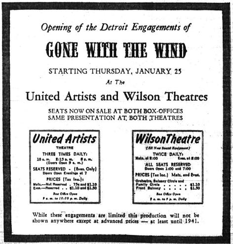 Detroit Free Press, January 21, 1940