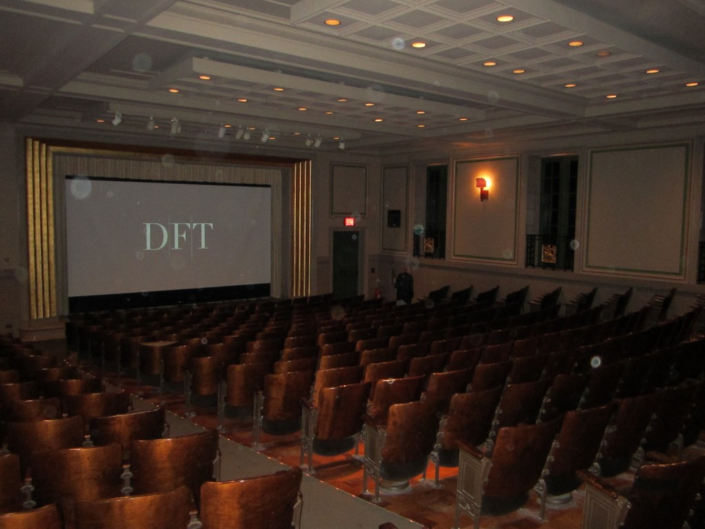 Detroit Film Theatre, July 14, 2012 (DIA Lecture Hall)