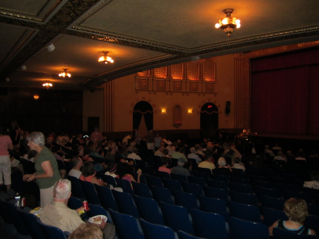 Michigan Theater, July 15, 2012