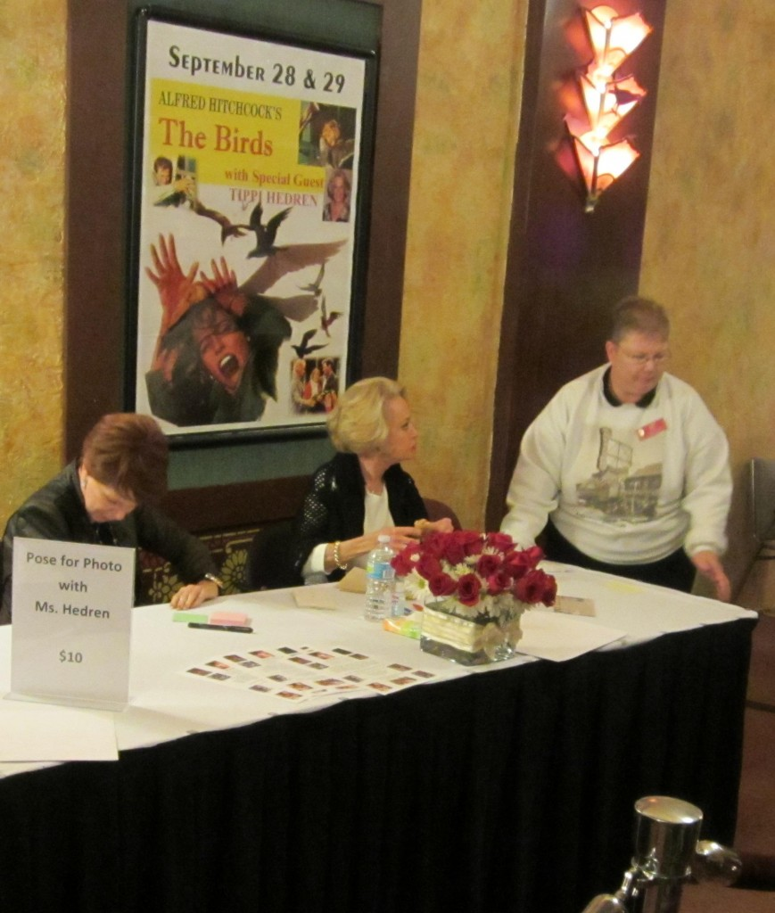 Tippi Hedren and Redford Volunteer Linda Sites, September 28, 2012
