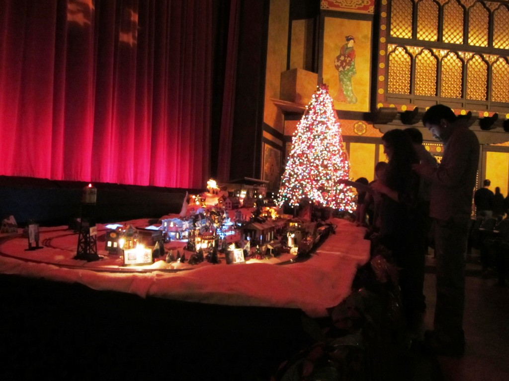 Redford Theatre, Train Set, November 30, 2012