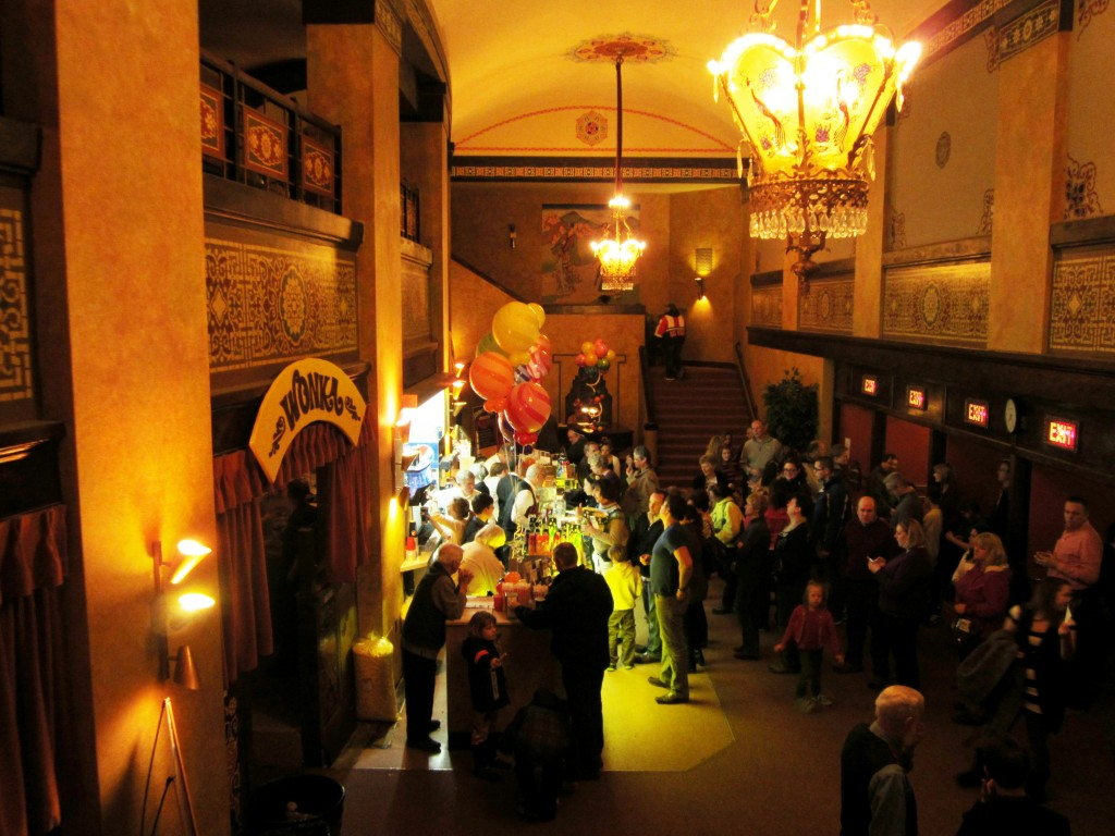 Redford Theatre, Concession Lobby, March 8, 2013