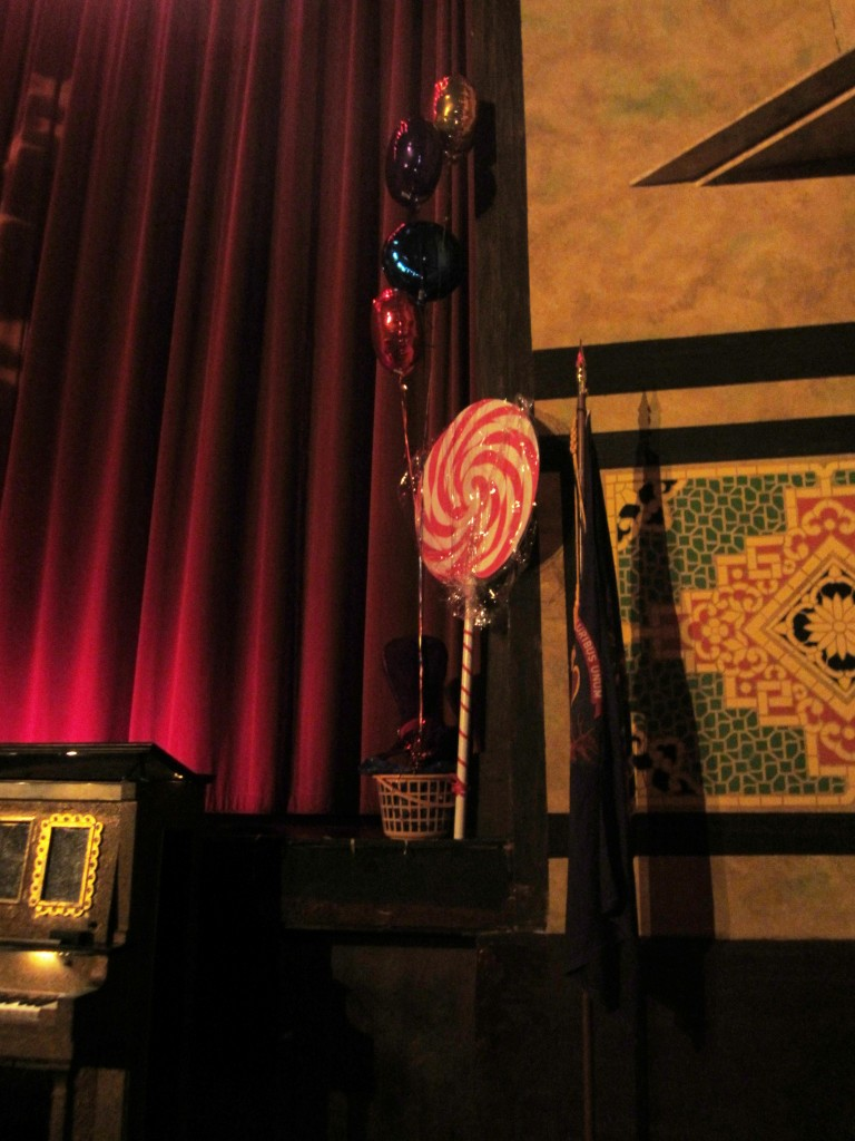 Redford Theatre, Stage Decoration, March 8, 2013