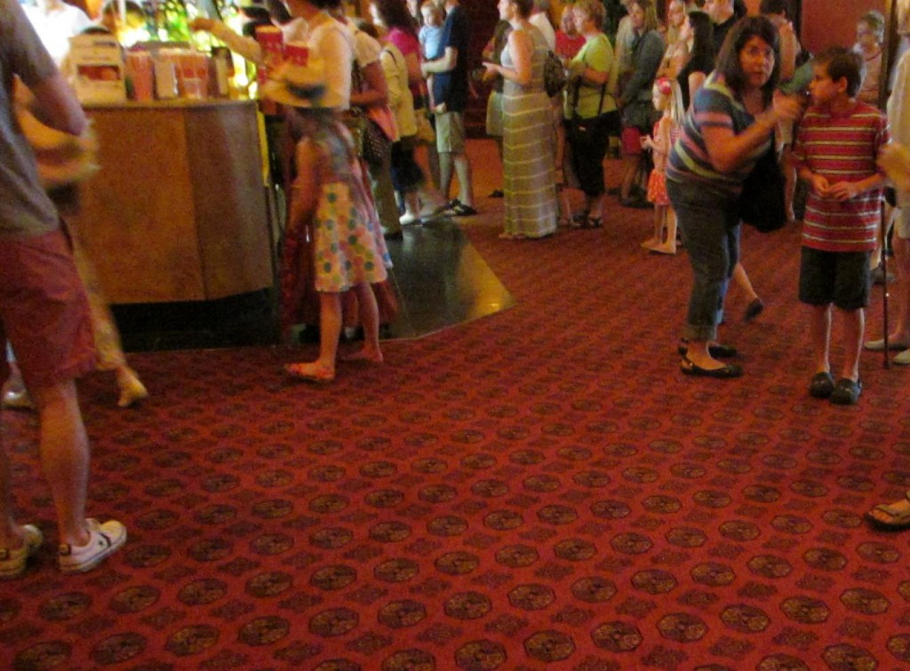 Redford Theatre, Concession Lobby, July 13, 2013