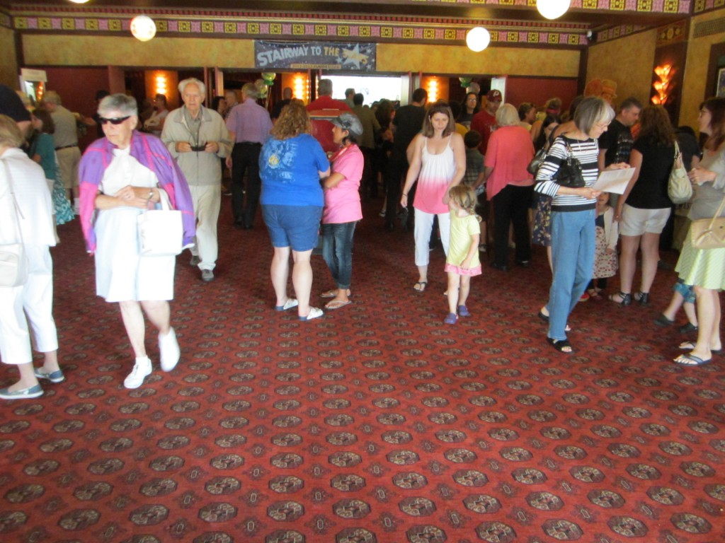 Redford Theatre, Front Lobby, July 13, 2013