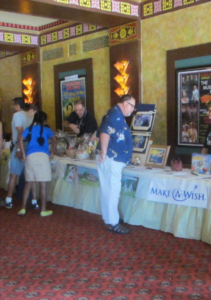Redford Theatre, Make-A-Wish Auction, Front Lobby, July 13, 2013