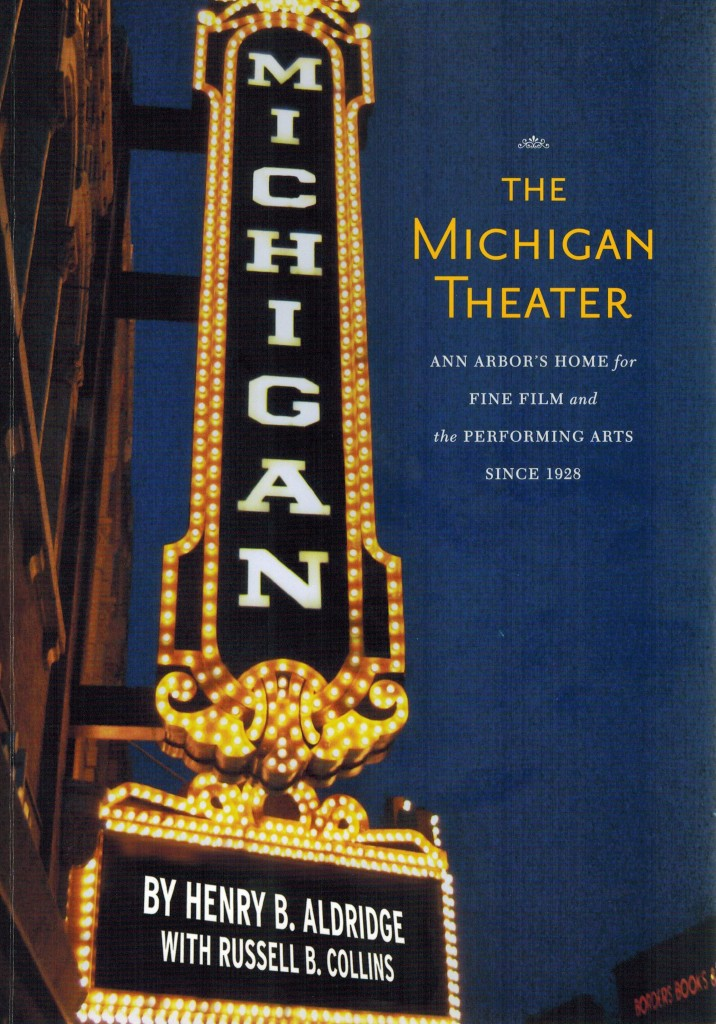 Michigan Theater Book Cover
