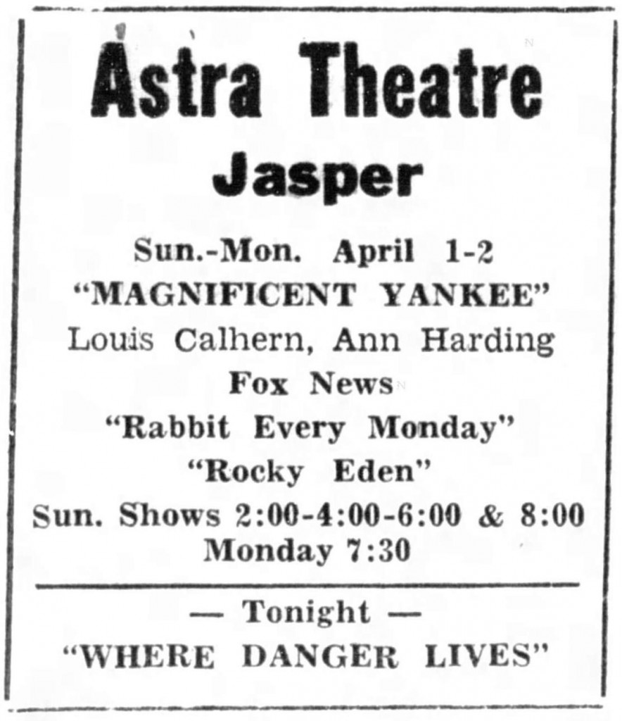 The Herald (Jasper, Indiana), March 31, 1951