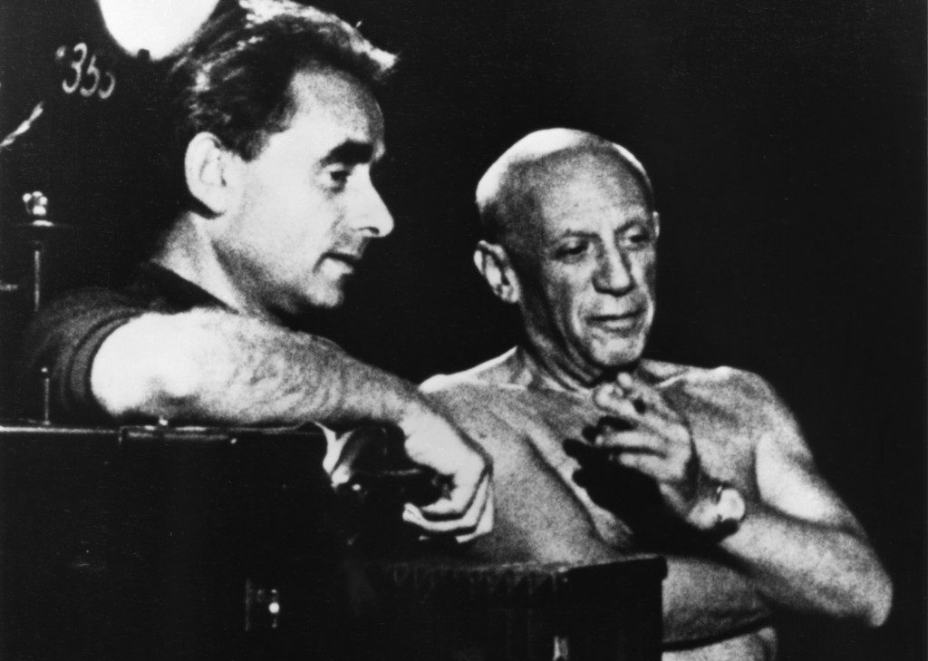 Henri-Georges Clouzot and Pablo Picasso
