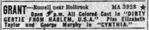 Detroit Free Press,  October 28,  1947 (Newspapers.com)